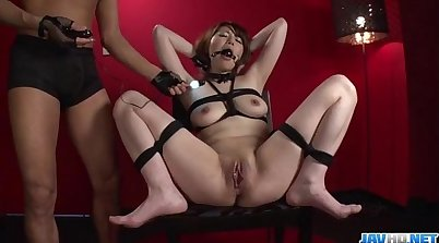 Milfs Ivan, Roz, and M\'mai Bondage For Sex