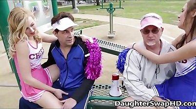 Blair Williams Teen Cheerleader Gets Fucked by Daddy 1997