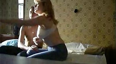Mother wakes up to make her son ejaculate
