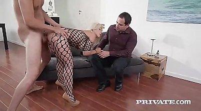 Bethany Monroe Brings Strange Anal Milf to Her Husband