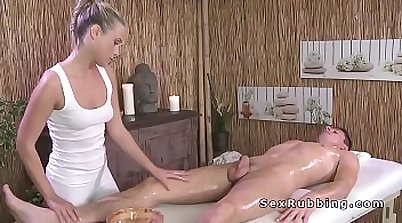 Blonde And Her Friend Naked Massage Workout
