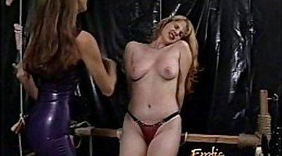 Busty Blonde Slut Devourned for Money