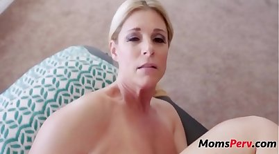 Mom and Her Son Tight Art Massage