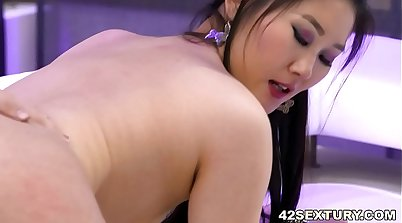 Asian euro slut getting fucked
