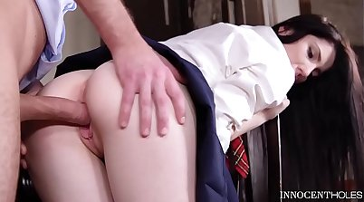 Female Teacher only hairless Schoolgirl Loves Dick