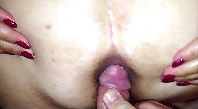 Wife Gets Ass Fucked And Facsate