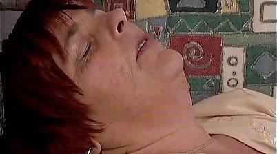 Crazy pornstars Rebecca Roxberton and Kristal Thorn in best Mature, Redhead sex video
