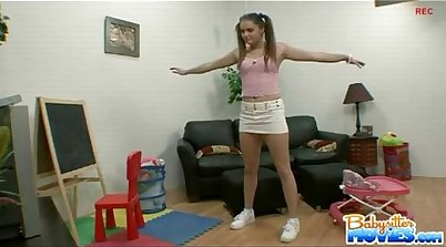 Loving Hot Babysitter Pounds Her Keeps the Job for Ally Rodriguez