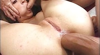 POVGirl Petite UK Tit DP Fuck