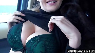 Busty amateur Czech girl gives BJ and gets her pussy wrecked on camera