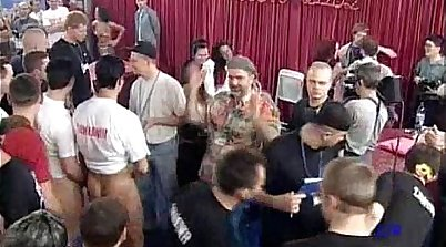 bearded orgy brazilian faggotry